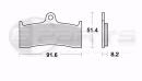 Braking CM55 Bremsbeläge vorne für Beringer 6-Kolben