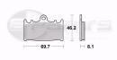 Braking CM55 Bremsbeläge vorne für Kawasaki ZZR...