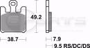 Braking CM55 Bremsbeläge vorne für Kawasaki...