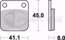Braking CM44 Bremsbeläge vorne für Suzuki DR...
