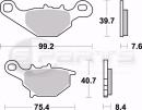 Braking SM1 Bremsbeläge vorne für Kawasaki KMX...