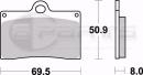 Braking SM1 Bremsbeläge vorne für Ducati 916 S...