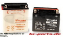 Yuasa Batterie YB9L-A2 für Kawasaki EL 252...