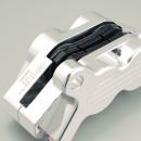 RST 4-Kolben Bremszange hinten (FXD, 91-99), alu poliert