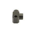 Verteiler 2-fach 90° M10x1,0 für Bremsleitung /...