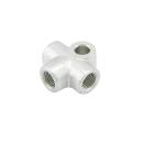 Verteiler 3-fach M10x1,0 für Bremsleitung Stahl konkav